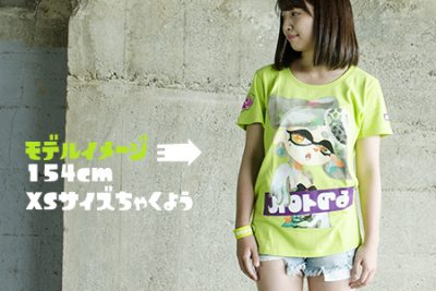 Camiseta Tina Splatoon 1