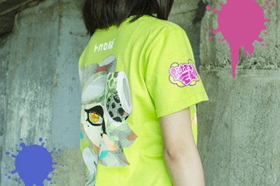 Camiseta Tina Splatoon 2