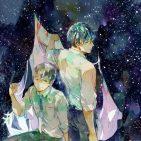 En un rincón del cielo nocturno Milky Way
