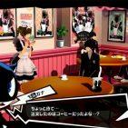 Persona 5 - maid cafe