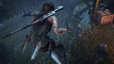 Rise of the Tomb Raider PS4 2